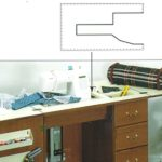 Arrow Custom Fit Insert for Select Sewing Cabinet (Quilty)