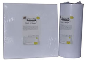 Floriani Stitch N Shape Stabilizer - Standard, Fusible or Double Sided Fusible