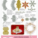 Anita Goodesign Martha's Christmas 3D Lace