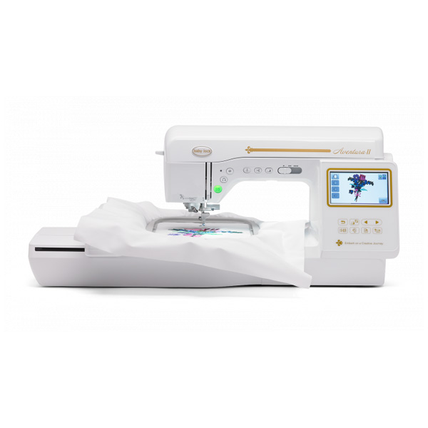 baby lock aventura 2 with embroidery unit
