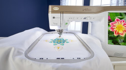 Baby Lock Altair Embroidery Machine with IQ Intuition™ Positioning App