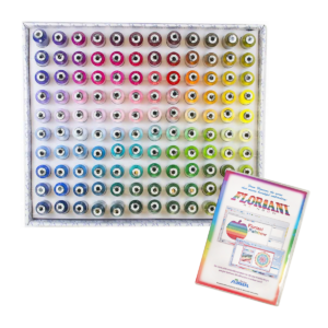 Floriani Spectrum thread set with Rainbow Software main product image