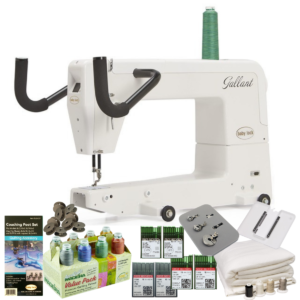 Baby Lock Gallant longarm quilting machine with bundle items main product image
